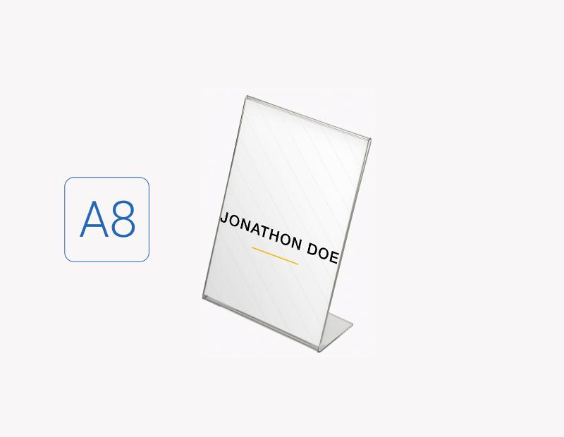 Suport eticheta A8 tip L