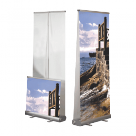 Sistem Roll Up Banner Smart - Dubla Fata